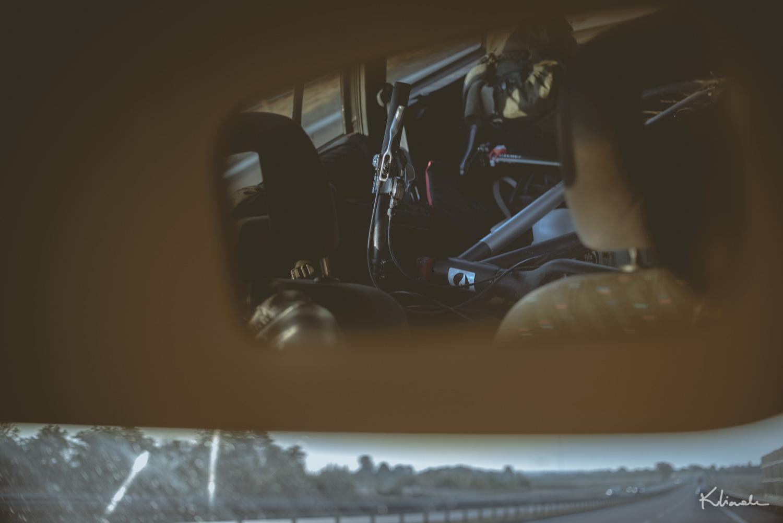 Rower na autostradzie