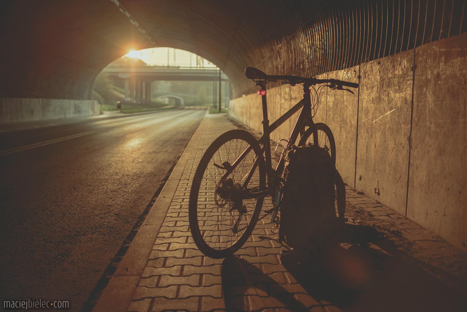 Lublin rowerem o świcie