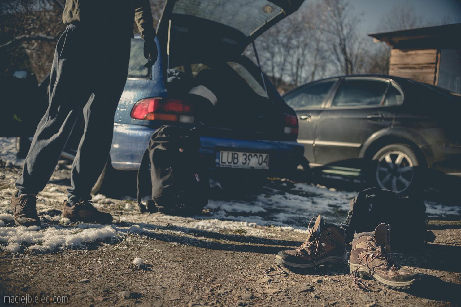 Buty w Bieszczady