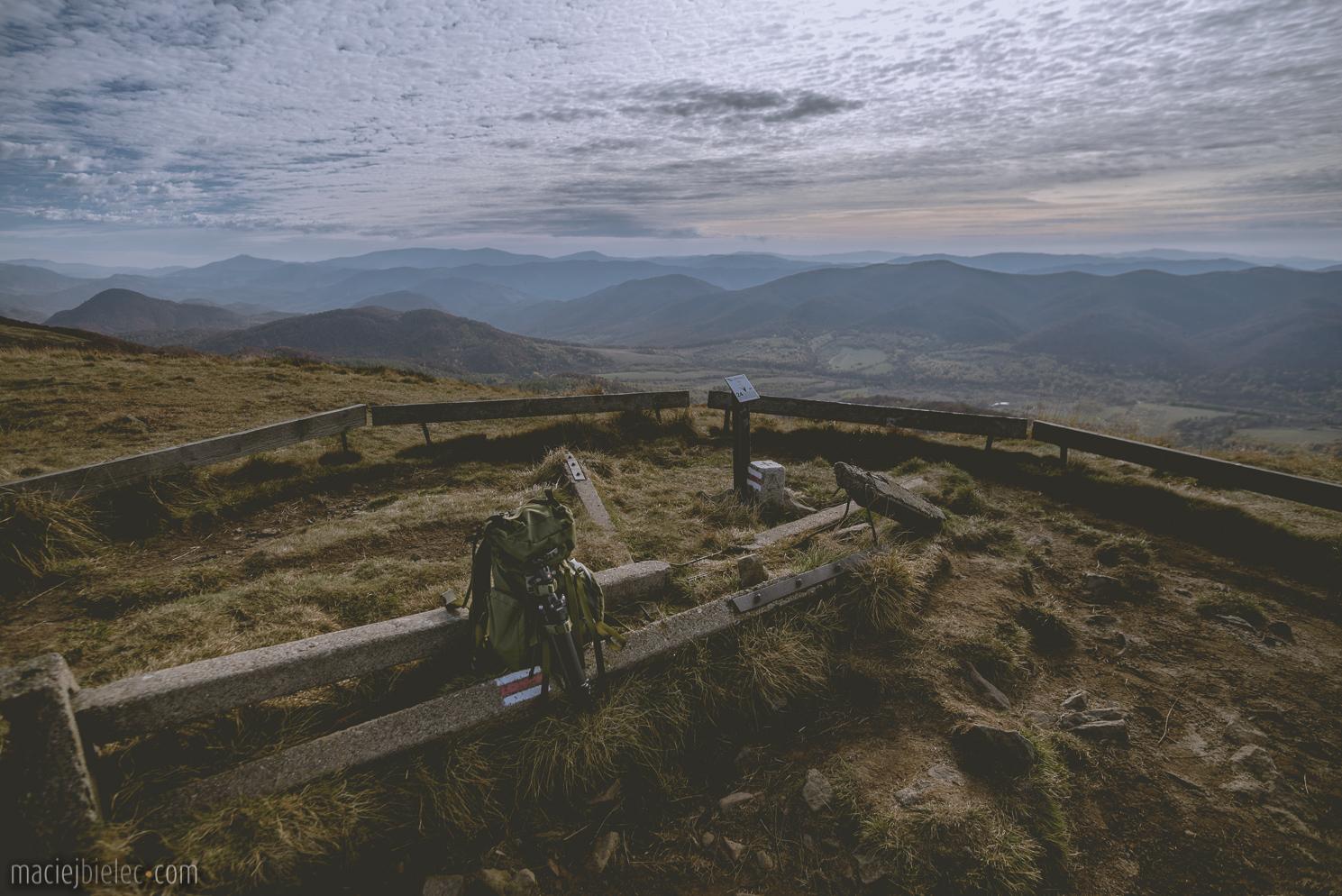 Słupy na Szerokim Wierchu