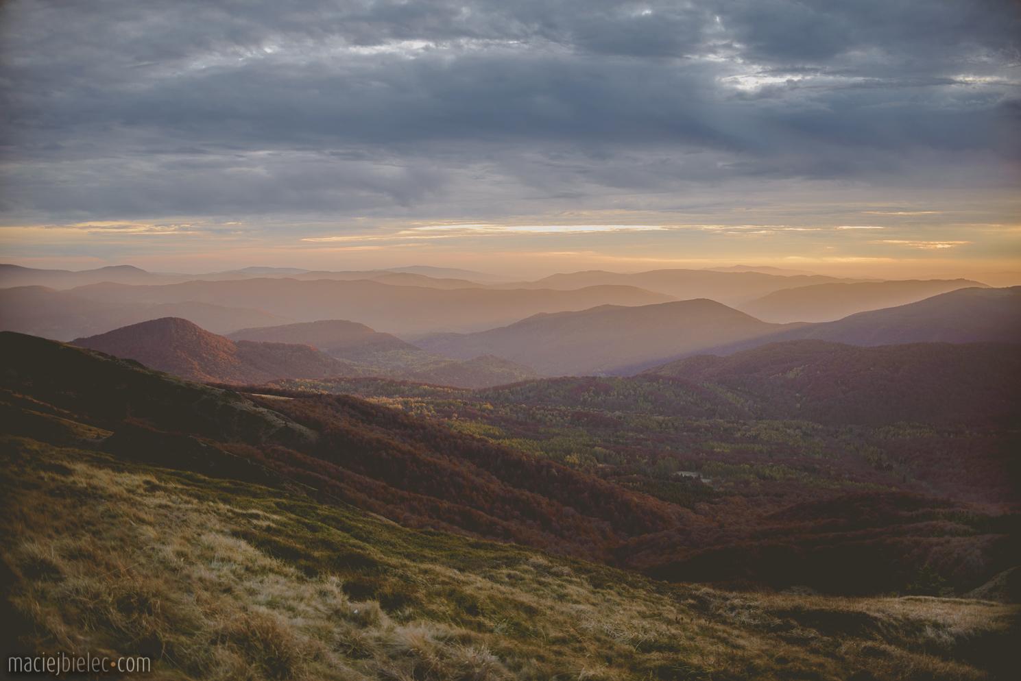 Zachód słońca Halicz