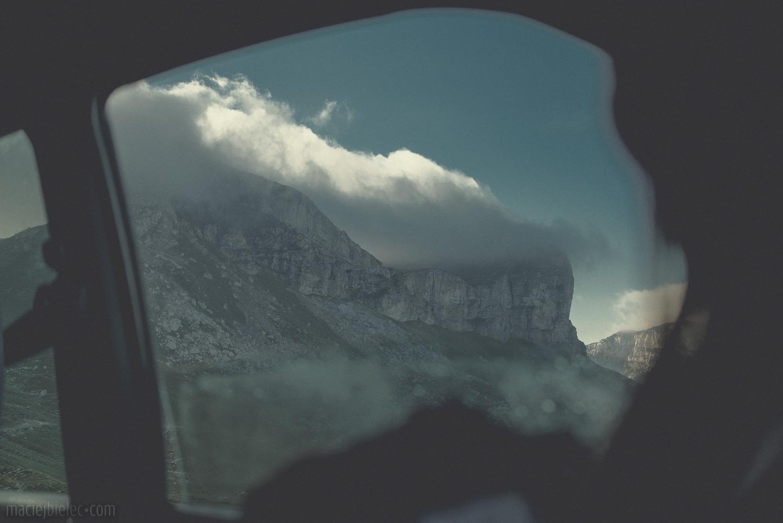 Chmury w Durmitorze